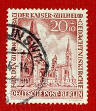 {GERMANY<BERLIN< Scott #9NB10< USED< F-VF< No Thins< CV $40.00< Bargain!}
