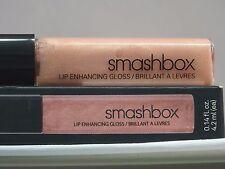 SMASHBOX DOUBLE-ENDED LIP ENHANCING LIP GLOSS - LUXE/CATWALK - FULL SIZE - NIB