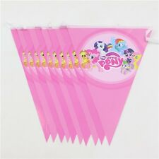 My Little Pony Kids Girl Banner Bunting Flag Happy Birthday 2.5 Meter