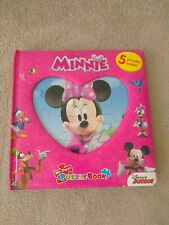 Minnie Mouse My First Disney Puzzle book