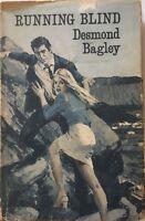 Running Blind By Desmond Bagley HC DJ 1971 1st Edition