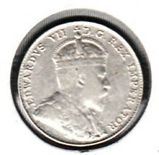 G5 CANADA 10c - 10 CENTS 1902 COIN - VERY FINE - VERY NICE