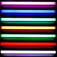 Neu 90cm LED RGB Tube Röhre Fernbedienung ALU Neonröhre Disco 230V Deckenlampe (