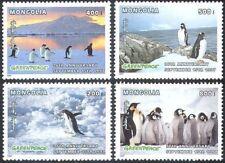Mongolia-1997 Antarctica Penguins Animals Fauna Protection of Nature