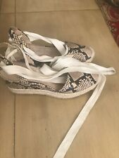 Via Spiga wedges espadrilles   sandals size 8