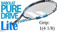 Babolat Pure Drive Lite Tennis Racquet Grip 1(4 1/8) Unstrung New Free Shipping