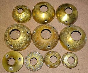 Important lot de pièces détachées pour lampe à pétrole parisienne