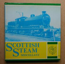 Scottish Steam Miscellany. By R D Stephen. 1977 HB in DJ 1st