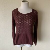 Lauren Conrad Womens Size Large Knit Long Sleeves Sweater