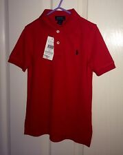 Ralph Lauren Polo boys Red Size 3 Year New With Tags