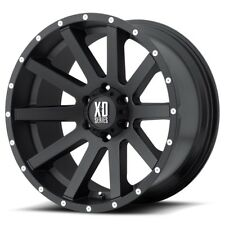 "17"" XD Series XD818 Heist Black Wheel 17x9 6x5.5 30mm Chevy Silverado GMC 6 Lug"