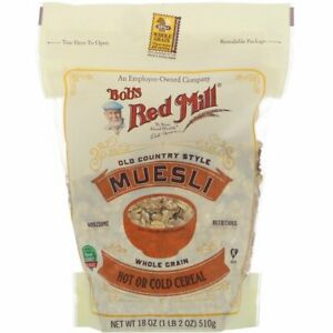 Bob's Red Mill Old Country Style Muesli Cereal, 18 oz