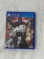 Persona 5 For PlayStation 4 PS4 RPG Rated M
