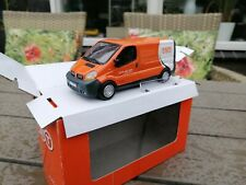 "1:43  Diecast toy Hongwell Cararama Renault Traffic  Van White / Orange TNT""NEW"