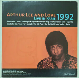 Arthur Lee & Love 'Live in Paris 1992' LP with Michael Head, French import new