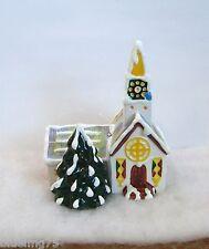 Dept 56 Snow Village Steepled Church Ornament #98631 NIB (DO1)