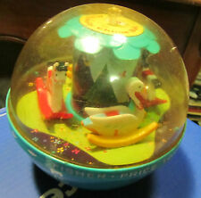 1966 Fisher Price Roly Poly Chime Ball 165 Merry Go Round Children's Toy Horses