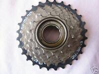 Shimano 7 speed freewheel cycle / bike block screw on