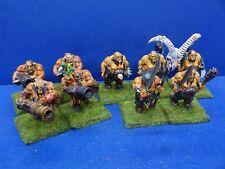 5 Ogerbullen + 4 Bleispucker der Oger Königreiche BEMALT