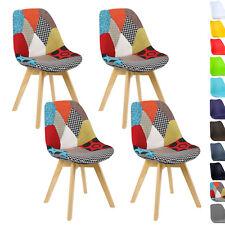 4er Set Esszimmerstühle Design Esszimmerstuhl Küchenstuhl Holz BH29mf-4
