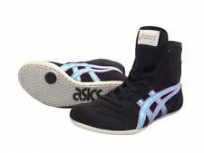 Asics Japan Wrestling shoes Ex-Eo Twr900 original color Black × Ice Blue F Pink
