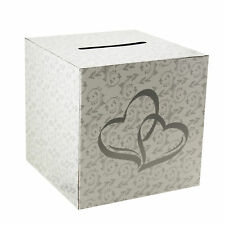 Wedding Card Money Gift Box Two Hearts Reception Wishing Well Decoration Supply
