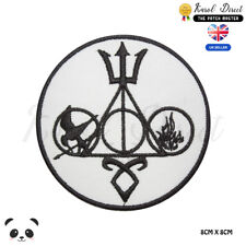Harry Potter Catching Fire Embroidered Iron On Sew On PatchBadge For Clothes