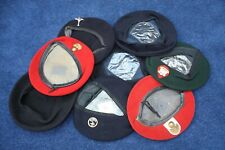 8 Post WW2 Military / Armed Forces British and European Berets.