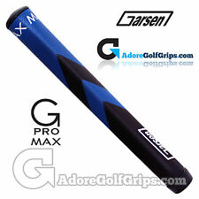 Garsen Golf G-Pro Max Jumbo Putter Grip - Blue / Black + Grip Tape