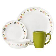 Corelle tangerine garden 16 PC dinnerware set Limited edition #EbayWishlist