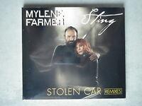 Mylene Farmer / Sting cd Maxi Stolen Car