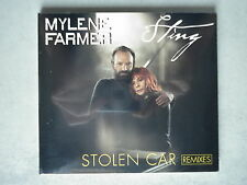 Mylene Farmer / Sting cd Maxi Stolen Car