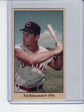 Ted Kluszewski '54 Cincinnati Reds slugger Tobacco Road series #11
