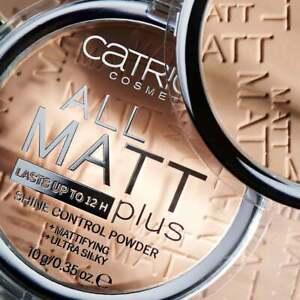 Catrice Face Powder Glow Highlight All Matt Plus Poreless Mineral Loose Bronzing
