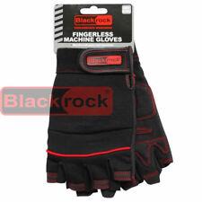 Blackrock Machine Fingerless Work Safety Gloves Tradesman Craftsman Hand Protect