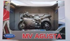 WELLY MV AGUSTA F4S 1+1 1:18 DIE CAST MODEL NEW IN BOX LICENSED MOTORCYCLE
