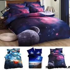 Universe 3D Duvet Cover Set Space Cosmos Star Sky Bedding Sets Pillowcase Cover