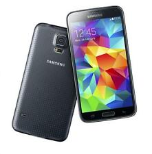 Samsung Galaxy S5 G900A 4G LTE 16GB Charcoal Black Unlocked GSM Smartphone USED