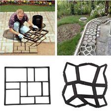 DIY Moldes Piedra de Pavimentación Pavimento Molde de Hormigón Para Jardín Negro