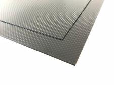 Carbon CF-Epoxy Platte HT div. Stärken / Formate Kohlefaser CFK