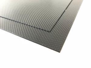 Carbonplatte Formate bis 2100 x 1050 mm Cfk
