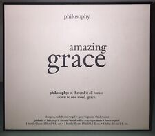 Amazing Grace by Philosophy 3 Piece Gift Set Rare New In Box Mother's Day Gift