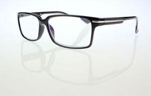 Men Black Frame Classic Fashionable Style Reading Glasses Readers +1.0 - +4.0