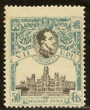 ESPAÑA Edifil 306** Mnh  40 Céntimos Rosa  Congreso UPU  1920   NL525