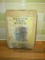 8 Track Cartridge The Best Of Tammy Wynette Vintage Rare Authentic