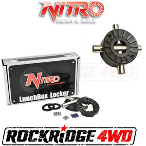 Nitro Gear Lunch Box Locker Suzuki SJ413 without coupler, 85-89 Samurai & Jimny