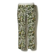 $550 WHITE MOUNTAINEERING Leaves Print OXFORD Botanical JODHPUR Pants 4-POCKET S