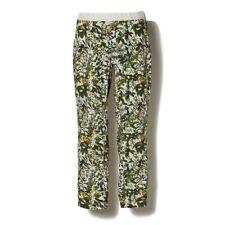 $550 WHITE MOUNTAINEERING Leaves Print OXFORD Botanical JODHPUR Pants 4-POCKET S