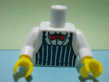 LEGO-MINIFIGURES SERIES [6] X 1 TORSO FOR THE BUTCHER FROM SERIES 6 PARTS