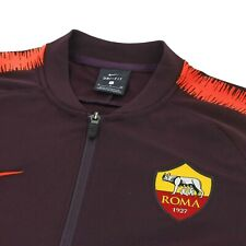 Nike AS Roma 18/19 NSW Authentic Tracksuit Men's Track Jacket Veste Giacca MED